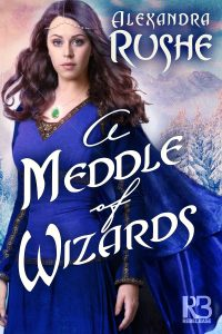Cover for A Meddle of Wizards by Alexandra Rushe