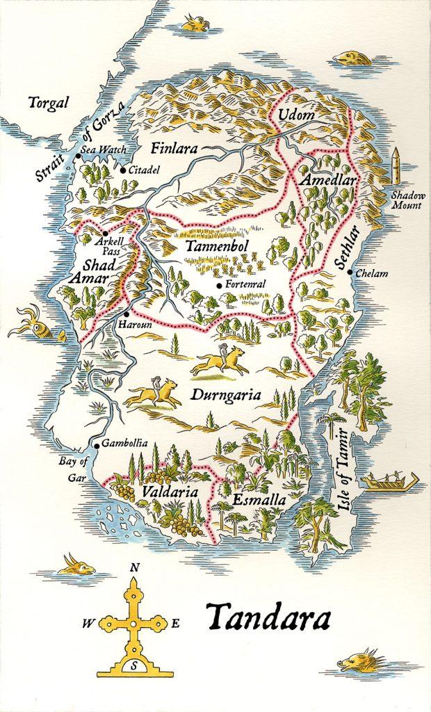 Tandara Map